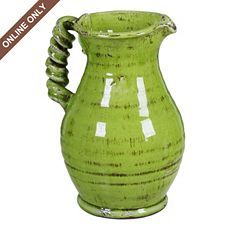 I love this color green!! and the handle
