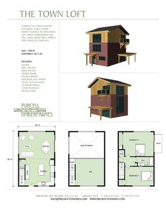 Purcell Timber Frames - Full Home Packages - The Town Loft