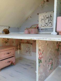 Vintage dolls house decor