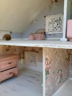 Shabby Chic Doll house ideas
