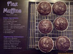 Feeeding the Brain and Body - Flax Muffins