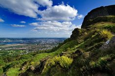 One clear days, visitors to Cave Hill can enjoy  views of the entire city of Belfast, as w...