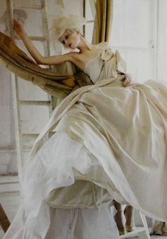 """Stella Tennant: the-moth-princess: """"Lady Grey"""" by Tim Walker"""