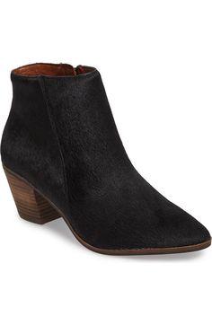 eaf2fa1f8b2 Lucky Brand Linnea II Genuine Calf Hair Bootie (Women) | Nordstrom. Black Ankle  BootiesAnkle ...