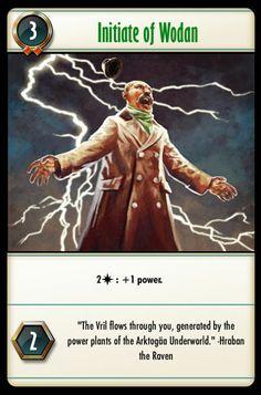 Initiate of Wodan Underworld, The Funny, Card Games, Fantasy Art, Battle, Magic, Gallery, Artist, Cards