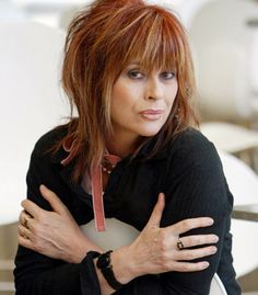 """""""Christina Amphlett, age lead singer of the Australian rock band, The Divinyls, succumbed to the effects of breast cancer and multiple sclerosis, diseases she vigorously fought with exceptional bravery and dignity. Much Music, Good Music, Women Of Rock, Gorgeous Redhead, Beautiful, Brave Women, Girls Be Like, Hair Trends, Rock Bands"""