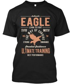Discover Eagle Men T-Shirt from EYECATCHER, a custom product made just for you by Teespring. Learn To Fight, Eagle Men, Eagle Shirts, Shirt Men, T Shirt, Men's Apparel, Sweatshirts, Tees, Mens Tops