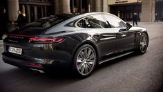 The new Panamera Turbo and Panamera 4S in motion.