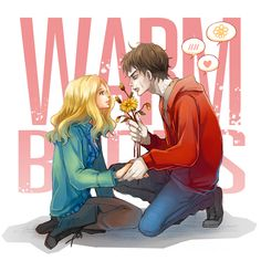 """Flower for You"" (Warm Bodies Fanart by Se-Lene.deviantart.com)"