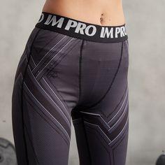 nice Female Girl Leggings Compression Pants Crossfit Sport Workout  -