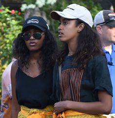 #TheObamas #visited the #TirtaEmpulTemple in Bali, 6/27/17. #TheObamas #FamilyVacation �#44thPresident #BarackObama #FirstLady #MichelleObama & Their #Daughters #MaliaObama & #SashaObama #Bali #Indonesia #Vacation Barack Obama #lived there in the 1960s after his mother Ann Dunham married second husband Lolo Soetoro, a native #Indonesian his #sister Maya Soetoro-Ng. & her family joined The Obamas on Vacation