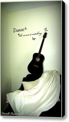 Dance Like No One Is Watching  Stretched Canvas Print / Canvas Art By Danielle  Parent