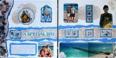 Snap.Scrap.Blog.Tweet: Vacation Scrapbook Layouts