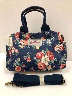 CATH KIDSTON MINI DAY BAG FOREST BUNCH NAVY SHOULDER BAG SLING CROSS BODY  PURSE  fashion  clothing  shoes  accessories  womensbagshandbags (ebay link) 506eeed76051e
