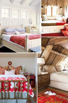 Red Cottage Bedrooms