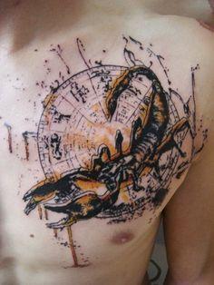 TOKO LÖREN  Thonon-les-Bains, France  #sign #astrology #tattoo