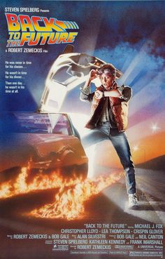 Back To The Future....the movie I remember seeing at the theatre for the first time. I was 6 yrs old. Hahaha!!!