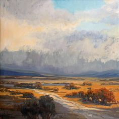 "Weekend In the West at Evergreen Fine Art Gallery ""Weekend In the West Art Show and Auction"" starts with a Western Style Gala opening and reception Friday, June 26th, 5-8 pm. On Saturday morning starting at 9am, a Quickdraw paintout will be held, folllowed by a Champagne Brunch, then a live Auction. For more info and tickets go to: www.weekendinthewest.com www.evergreenfineart.com Below: Southpark Sunday #2, oil on linen, 36x36"