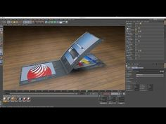 How to make 3d Book in Cinema 4D Tutorials (Easy Method) - YouTube
