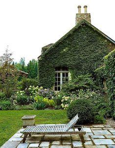 love these lush gardens