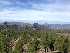 Monumento Natural del Roque Nublo en Tejeda, Canarias