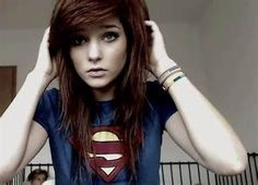 Brown Emo Hairstyles for Girls