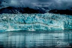 Alaskan glaciers calving during a picturesque storm.  Nature is so beautiful…
