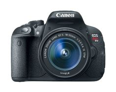 Canon EOS Rebel T5i 18.0 MP CMOS Digital SLR with 18-55mm EF-S IS STM Lens - $ 899.00     FEATURED  Canon EOS Rebel T5i 18.0 MP CMOS Digital SLR with 18-55mm EF-S IS STM Lens   18.0 Megapixel CMOS (APS-C) sensor, 14-bit A/D conversion, ISO 100-12800 (expandable to H: 25600) for shooting from bright to dim light and high performance DIGIC 5 Image Processor for exceptional...