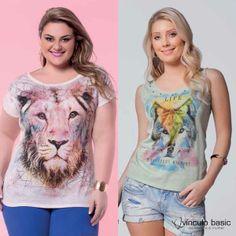 Lobo, leão e outras feras da natureza estampadas em seus looks para um visual incrível! #animalprint #VínculoBasic #verão