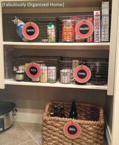 More wire basket organization
