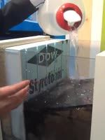 Styrofoam Perimate from DOW isn't quite new but this video explains the concept of exterior styrofoam insul w/ drainage gaps--a concept that's yet to really catch on in the US #IBSVegas