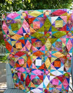 TortugaQuilter: Storm at Sea quilt