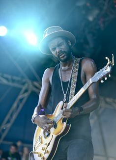 """under 'bright lights"""" Sound Of Music, Music Love, Music Is Life, Rock Music, Music Icon, Music Songs, Gary Clark Jr, Delta Blues, Concert Photography"""