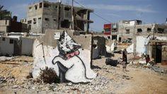 O melhor de Banksy, o artista pop mais famoso e misterioso do grafite britânico