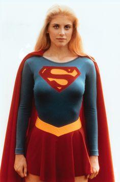 Helen Slater as Supergirl Supergirl Movie, Supergirl 1984, Superman Movies, Marvel Vs, Captain Marvel, Helen Slater Supergirl, Melissa Supergirl, Dc Comics, Superhero Cosplay