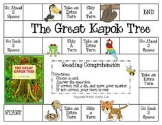 This is a terrific game that students can play after reading The Great Kapok Tree.  Rainforest unit