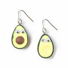 LOL!   Need a present for a vegan friend?  Googly Eyes Avocado Drop Earrings | Claire's - $7.00