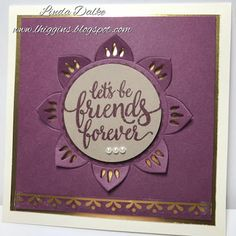 Something exciting is coming!  Who wants a sneak peek at the Eastern Palace Suite from StampinUp!???