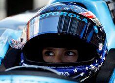 Racecar driver Danica Patrick
