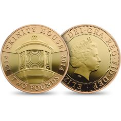 500th Anniversary Trinity House 2014 UK £2 Gold Coin £750.00