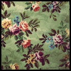 #carpet #rug #roses #flowers #floral #granny #retro #romantic #decor