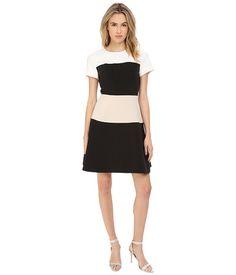 KATE SPADE Stripe Crepe Dress. #katespade #cloth #dresses