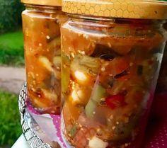 Konserve Şakşuka Nasıl Yapılır? 2 Pasta, Turkish Recipes, Preserves, Pickles, Cucumber, Food And Drink, Homemade, Cooking, Health