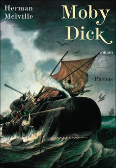Herman Melville's Moby-Dick is considered a treasure of American literature. The author never lived to see the book's success, however, as it was published in 1851 and its first surge o… Melville Moby Dick, Books To Read, My Books, White Whale, American Literature, Chef D Oeuvre, Fiction And Nonfiction, Classic Books, Great Books