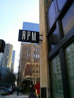 RPM Italian...such a good restaurant!