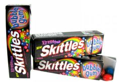 Omg this must belong in this category, as an avid gum and Skittles fan I would love some!