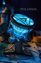 1:6 skala Iron Man Arc Reaktor LED-Light