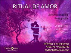 TAYTA INTI  CENTRO HOLISTICO: Ritual de Amor