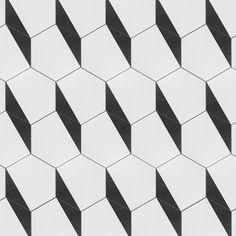 EliteTile Zenith Hex x Porcelain Mosaic Tile Mosaic Tiles, Wall Tiles, Tiling, Artistic Tile, Stone Tiles, Bathroom Flooring, Geometric Shapes, Geometric Tiles, Geometric Fabric