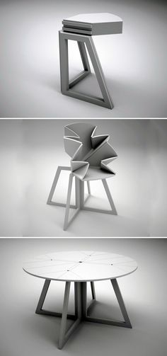 30 Amazing Extending and Folding Tables! (video) | http://www.designrulz.com/design/2015/01/30-amazing-extending-folding-tables-video/